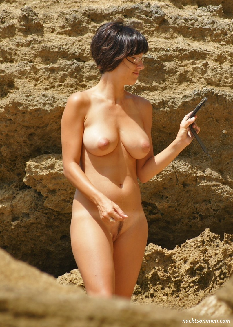 Frauen Am Fkk Strand