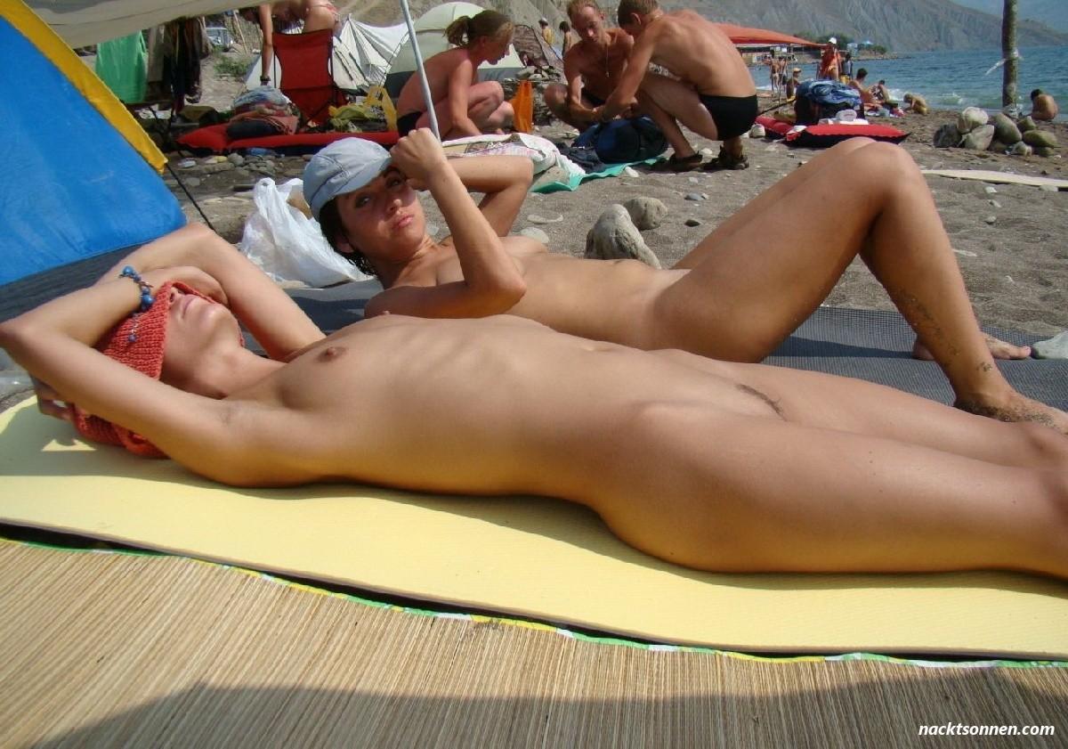Sonnen pics nackt 50 Hottest