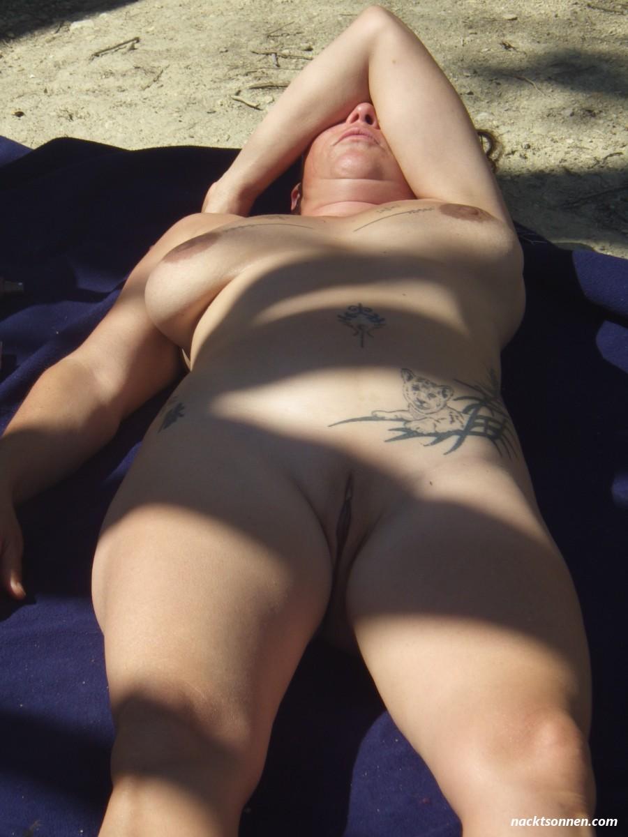 Rasiert Am Strand