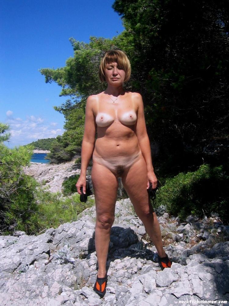 Nach der Scheidung loslassen Amateur nackt Strand Bilder